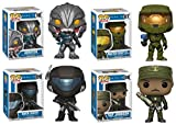 FunkoPOP Halo: Arbiter + Master Chief + ODST Buck + SGT Johnson - Figure Set