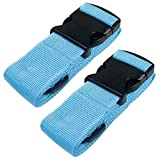 Heavy Duty Luggage Straps for Suitcases Packing Belts Travel...