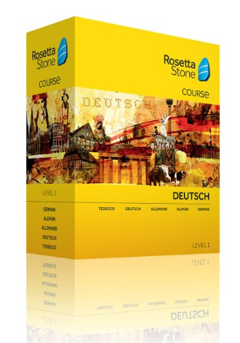 Rosetta Stone German Level 1