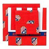 Atlético de Madrid Club Bettwäsche-Set 105cm, 3Teile