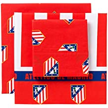Atlético de Madrid Club - Juego para cama de 90 cm, 3 piezas
