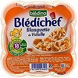 Blédina Chef Blanquette De Dinde Et De Poulet (18 Mois) 260G - Paquet de 4