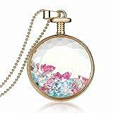 Xinmaoyuan Star Diamond Joyas de boda Birthstone caja de cristal que deseen Collar piedras Collar bañado en oro , Figura Color Regalo de Boda Regalo de Cumpleaños regalo de vacaciones