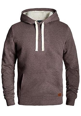 BLEND Teddy - Sweater à capuche- Homme, taille:XL;couleur:Mocca Mix (70816)