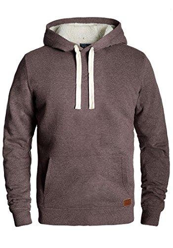 BLEND Tedy Herren Kapuzenpullover Hoodie Sweatshirt aus hochwertiger Baumwollmischung, Größe:M, Farbe:Mocca Mix (70816)