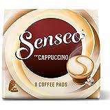 Senseo Kaffeepads Cappuccino, Milchschaumklassiker, Kaffee, neue Rezeptur, 8 Pads