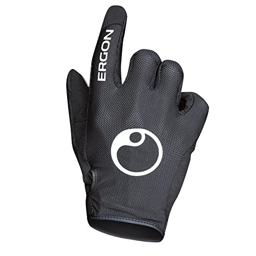 Ergon Fahrrad Handschuhe All Mountain Bike MTB Moto Cross Country Enduro Offroad Gelände, Größe XL (Off-road-mountain-bike)