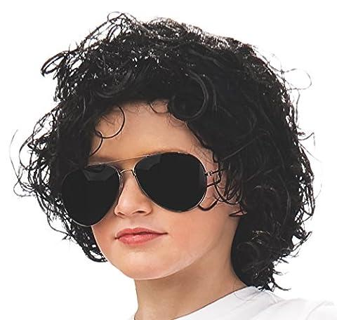 Costumes 211441 Michael Jackson perruque-enfant