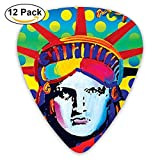Goddess Guitar Picks 12-Pack Set Paddles Plectrums For Guitarist Players