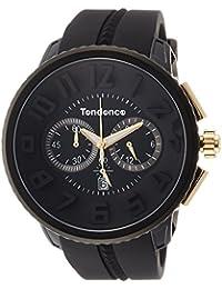 5d74934b55ce  Tendence  reloj tendence Gulliver Round Chrono  Yakuza colaboración 666  modelo de edición limitada  negro Dial…