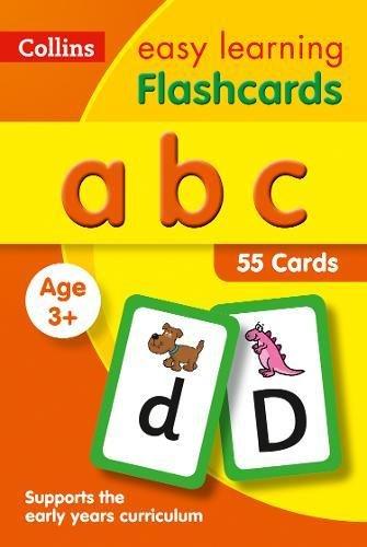 abc Flashcards (Collins Easy Learning Preschool)