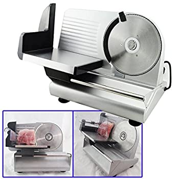 "Denshine 7.5"" Electric Stainless Steel Precision Food Slicer Meat Slicer Blade Machine For Commercial Restaurant Home Use 0"