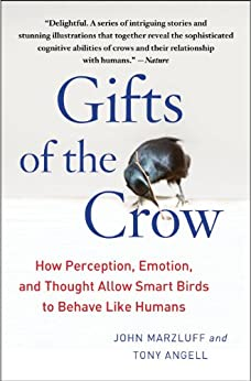 Gifts of the Crow: How Perception, Emotion, and Thought Allow Smart Birds to Behave Like Humans by [Marzluff, John, Angell, Tony]