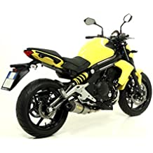 Silenciador Titanio homologado Arrow race-tech para Kawasaki ER-6N 2012–2016