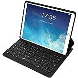 """EC Technology Hülle mit Tastatur Kompatibel mit iPad Pro 10,5 und 10.5"""" Neu iPad Air 2019, Ultraleichte Deutsche Bluetooth Tastatur Hülle mit Smart Power Schalter, Winkelverstellbar"""
