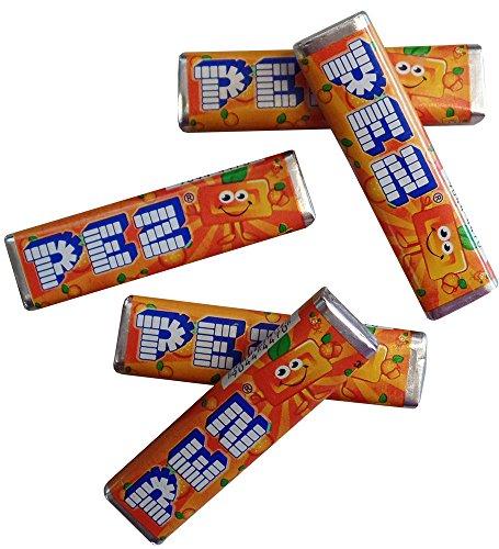 saveur-de-orange-fruite-pez-recharges-pack-de-12