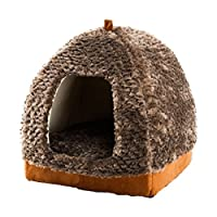 Generic Dog bed, L suggest within6kg : 2016 New Product Dog Bed Soft dog Kennel Dog House For Pets Cat Puppy Home Shape Animals casa Products For Animal Removable