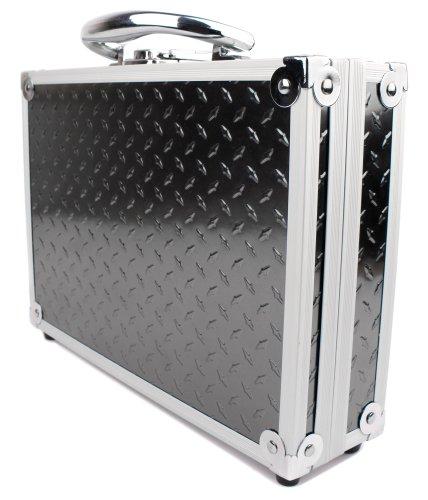 Preisvergleich Produktbild Für Ihr Tacklife DM02A Klassisches Digital Multimeter | Tacklife DM01M Advanced Multimeter | Tacklife DM03 Klassischer Spannungsprüfer und Zubehör - Aluminiumkoffer mit zuschneidbarem Schaum von DuraGadget