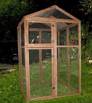 Silvio Design Birdcage, Set with Dreamy Aviary Bird Tree, Dimensions: Approx 114 x 112 x 179 cm 1