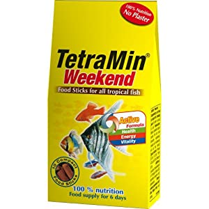 Tetramin Weekend Fish Food 10 Sticks