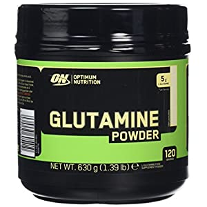 51g7A58GXML. SS300  - Optimum Nutrition ON Glutamine Muscle Recovery Powder, Unflavoured Protein Powder, 120 Servings, 630 g