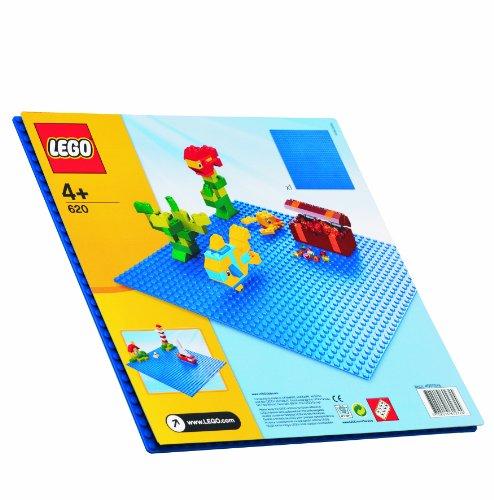 LEGO Classic - Plancha de construcción azul (620)