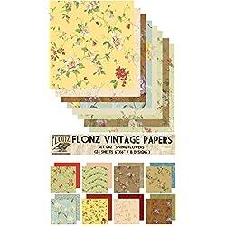 Spring Flowers FLONZ Vintage