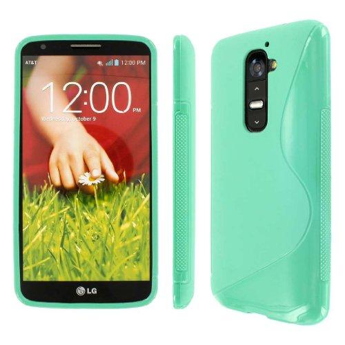 Schutz Case Tasche Hülle for LG G2 / D800 / D801 / LS980 - Mint (NOT Compatible ()