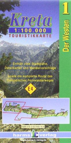 Descargar Libro Kreta/Crete Der Westen/Western Part : 1 : 100 000 de Harms Verlag