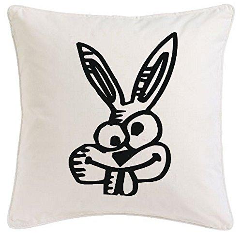 funda-de-la-almohada-40x40cm-nogal-imperio-crazy-conejo-cartoon-fun-fun-serie-de-la-pelcula-de-culto