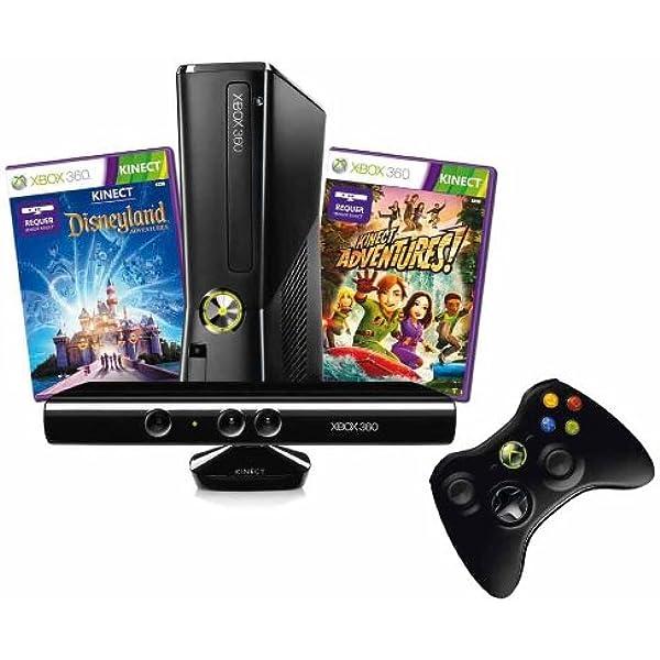 Xbox 360 4 Gb Kinect Kinect Disneyland Adventures Bundle Amazon De Games