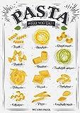 PICSonPAPER Kunstdruck Pasta, ungerahmt DIN A1, Geschenk,