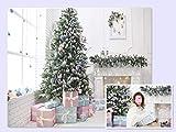 WaW Große Weihnachten Foto Hintergrund Kulissen Leinwand Famliy Hochformat Weihnachts Baum Wohnzimmer Hintergründen für Fotografie Christmas 3x2m