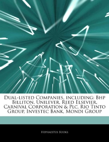 articles-on-dual-listed-companies-including-bhp-billiton-unilever-reed-elsevier-carnival-corporation