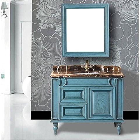 Modylee Baño de la planta baño gabinete gabinete de combinación Continental de una variedad de tamaños para requisitos particulares , mirror size 900*950mm