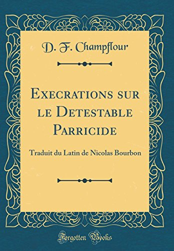 Le Parricide [Pdf/ePub] eBook
