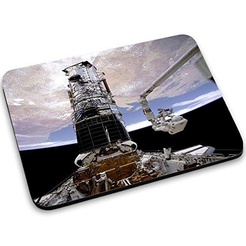 Weltraum 10007, Raumfahrzeug, Mousepad Anti Rutsch Unterseite für Optimalen Halt Kompatibel mit allen Maustypen (Kugel, Optisch, Laser) Ideal für Gamer und für Grafikdesigner.