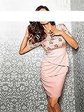 Ashley Brooke event Designer Spitzen Stufenkleid rosa Gr, Rosa, 42