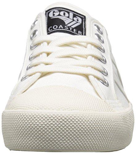 Gola Damen Coaster Sneaker Elfenbein (Off White/off White Ww White)