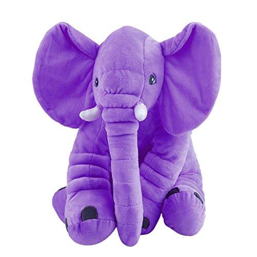 FURU 50 * 60 cm Plüschkissen,gran nariz Elefant Schlafkissen peluche juguetes Lendenkissen...