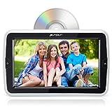 Pumpkin 10.1' HD Reproductor DVD Coche, Mutimedia con Pantalla 1024*600 Resolución para Resposacabezas de Coche, Soporta USB / SD / AV-IN / AV-OUT / Entrada de HDMI / Uso Doméstico