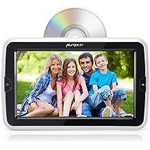 """Pumpkin 10.1"""" HD Reproductor DVD Coche, Mutimedia con Pantalla 1024*600 Resolución para Resposacabezas de Coche, Soporta USB / SD / AV-IN / AV-OUT / Entrada de HDMI / Uso Doméstico"""