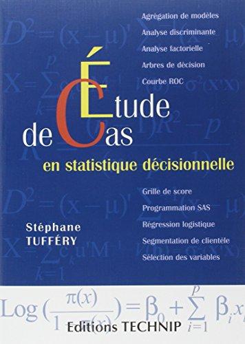 Etude de cas en statistique décisionnelle