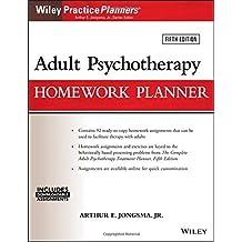 Adult Psychotherapy Homework Planner (PracticePlanners) by Arthur E. Jongsma Jr. (2016-03-28)