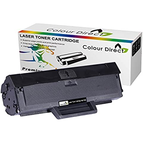 Colour Direct Negro High Compatible Cartucho de tóner Reemplazo para Samsung MLT-D1042 ML-1660, ML-1661, ML-1665, ML-1666, ML-1670, ML-1675, ML-1860, ML-1865, ML-1865W, SCX-3200, SCX-3201, SCX-3205, SCX-3205W, SCX-3206, SCX-3217, SCX-3218 *1500 pages High