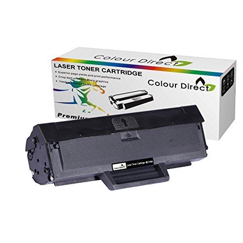 Kompatibel High Yield Print (Colour Direct Schwarz High Kompatibel Toner Patronen Ersatz für Samsun ML-1660, ML-1661, ML-1665, ML-1666, ML-1670, ML-1675, ML-1860, ML-1865, ML-1865W, SCX-3200, SCX-3201, SCX-3205, SCX-3205W, SCX-3206, SCX-3217, SCX-3218*1500 Seiten High yield*)