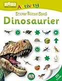 memo Activity. Dinosaurier: StickerRätselSpaß