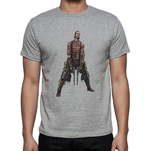 Fine Art Army Of 200 BC Herren T-Shirt Grau