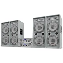 "White Star Series ""Artic Ice"" Equipo sonido profesional DJ 4000W"