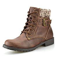 Boys Kids Girls New Casual Biker Style Zip Buckle Lace Up Ankle Boots Shoes